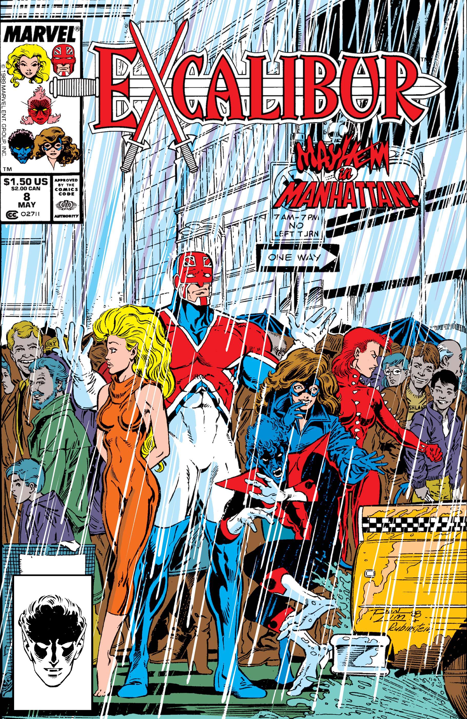 Excalibur (1988) #8