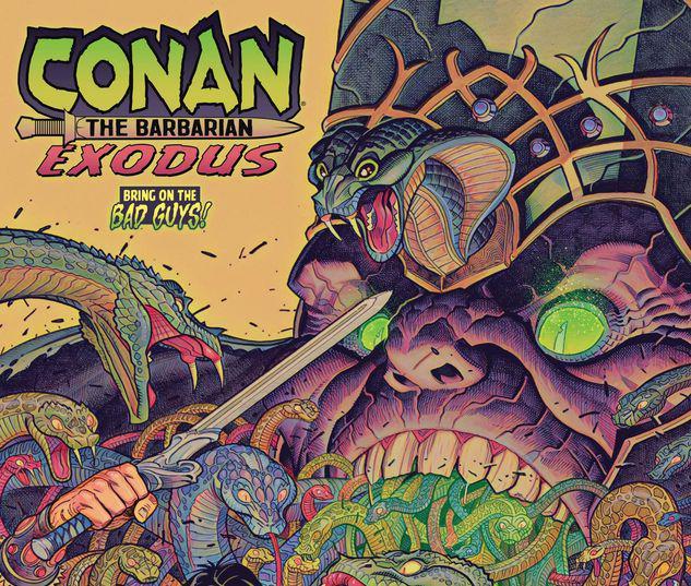 CONAN THE BARBARIAN: EXODUS 1 BRADSHAW BOBG VARIANT #1