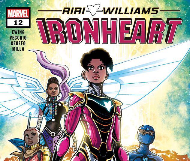 Ironheart #12
