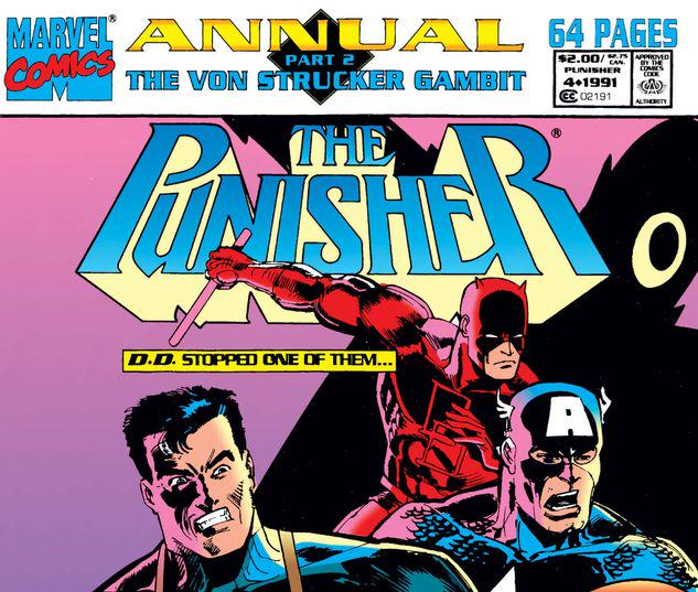 The Punisher Annual #4