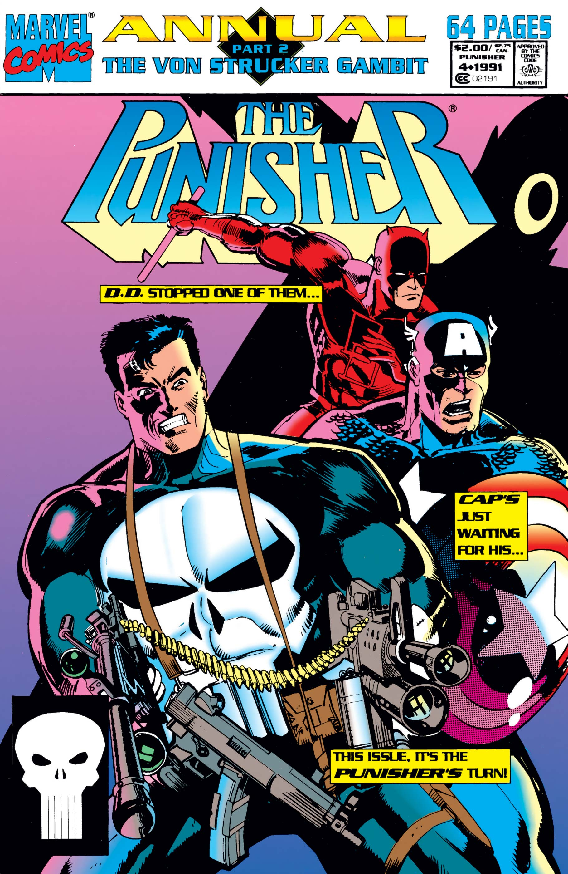 The Punisher Annual (1988) #4
