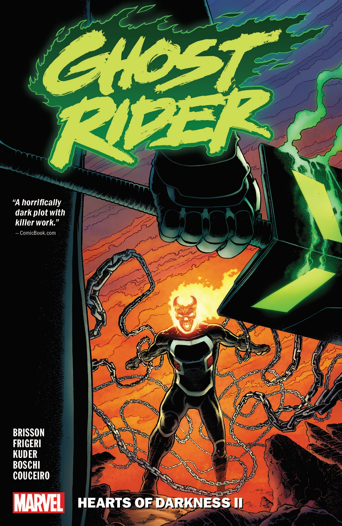 Ghost Rider Vol. 2: Hearts Of Darkness II (Trade Paperback)