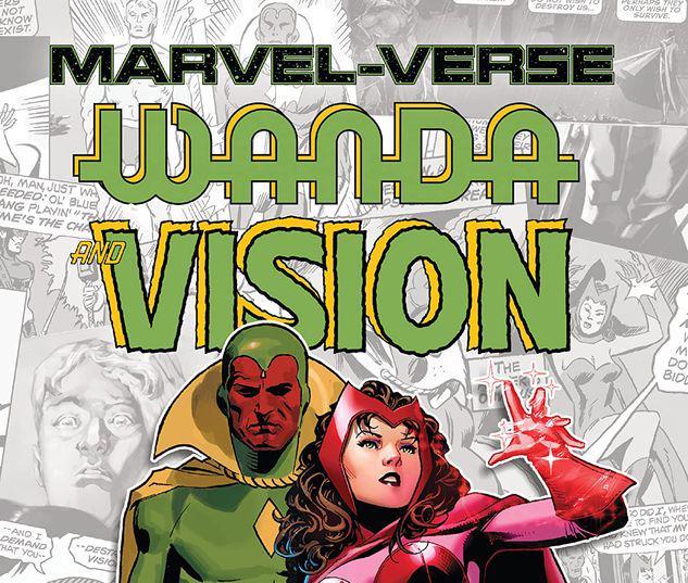 MARVEL-VERSE: WANDA & VISION GN-TPB #1