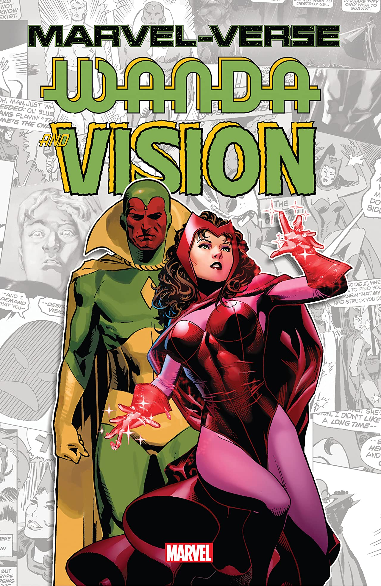 Marvel-Verse: Wanda & Vision (Trade Paperback)