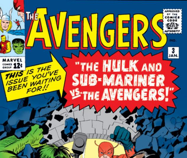 Avengers (1963) #3 cover