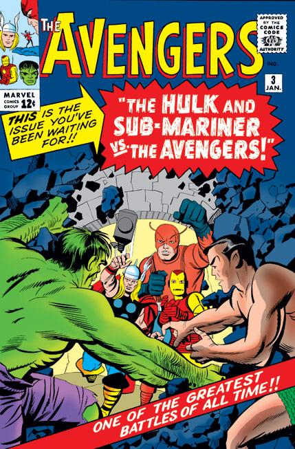 Avengers (1963) #3