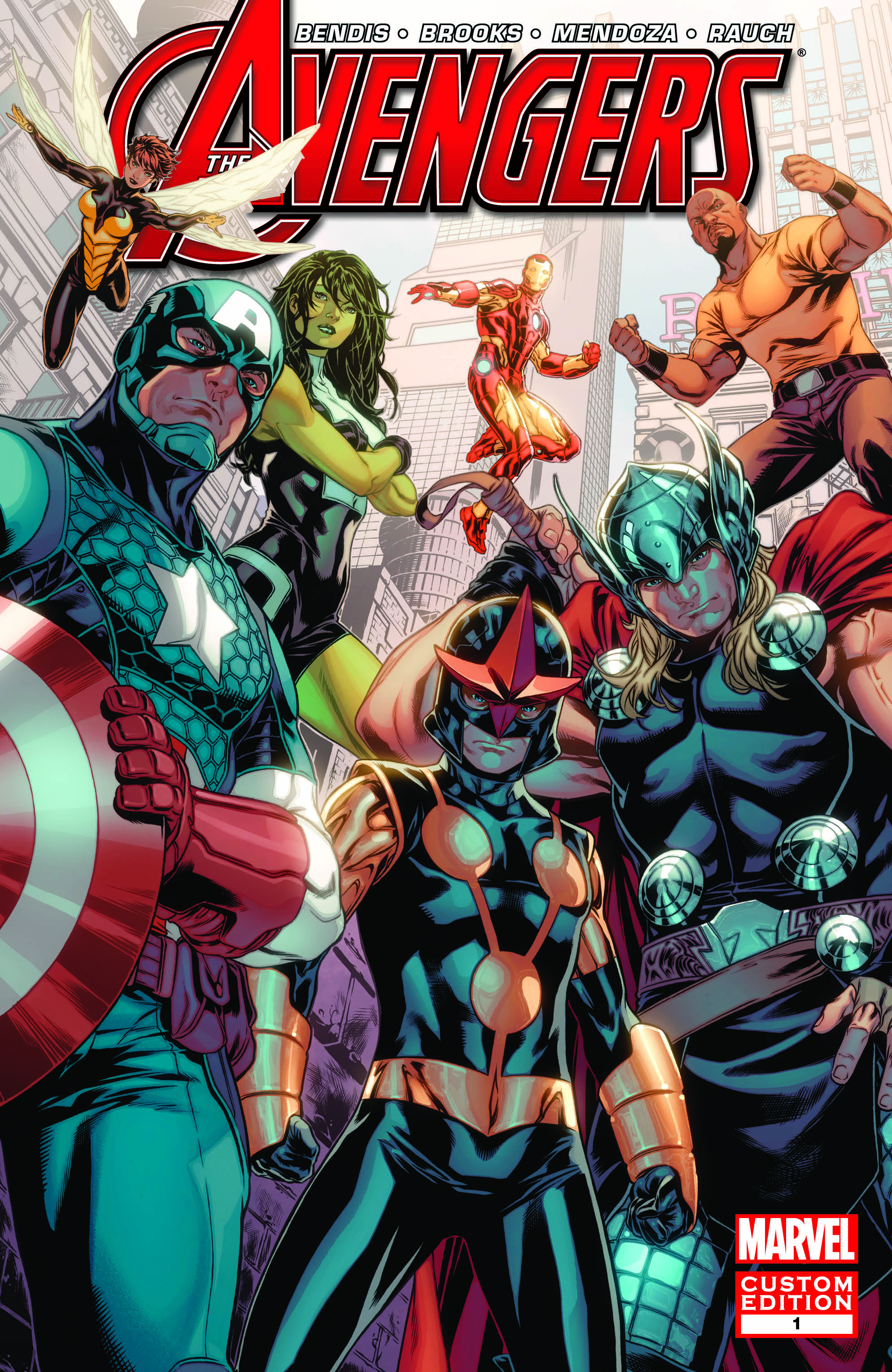 Avengers: Heroes Welcome (2013) #1