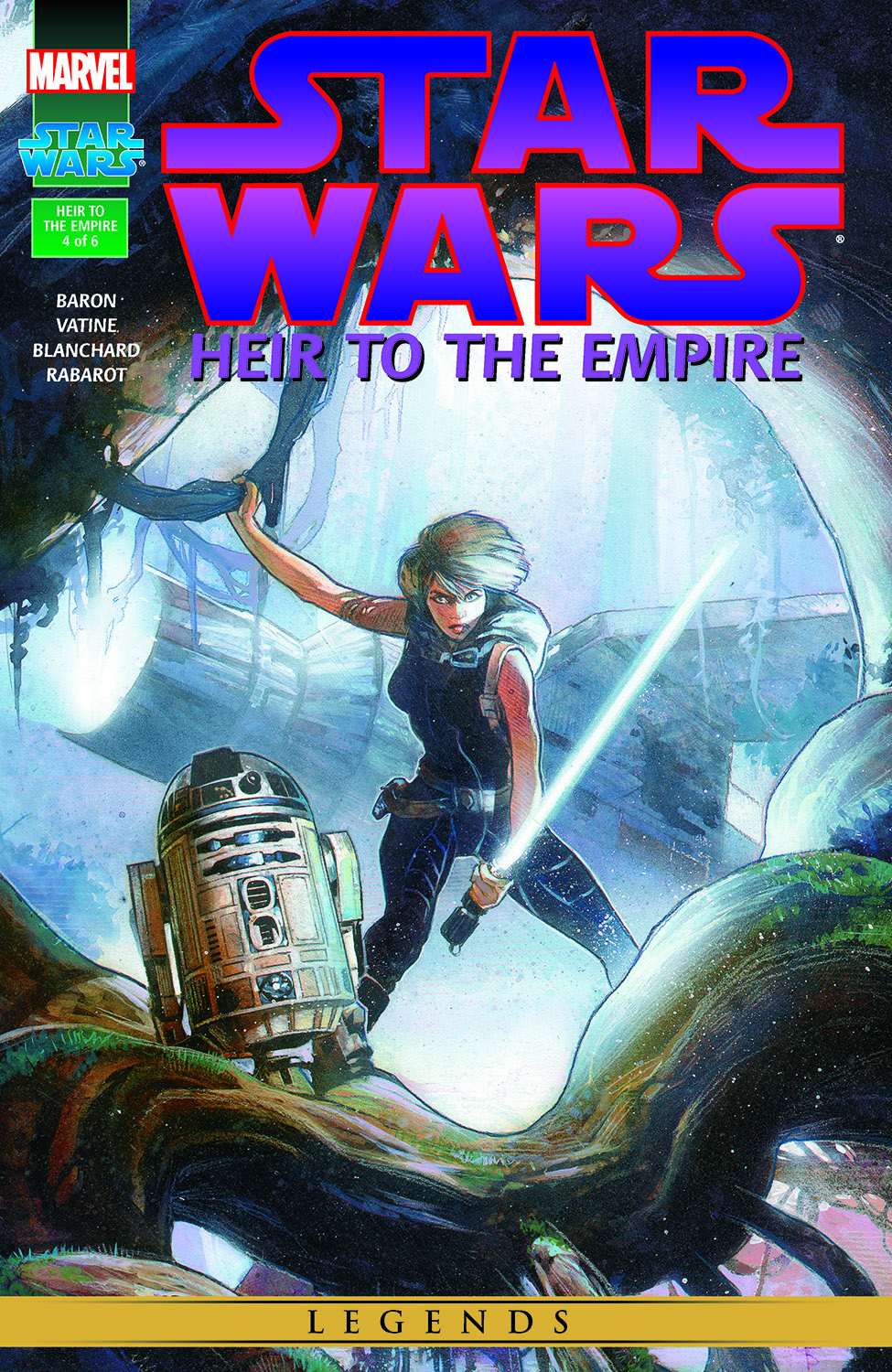 Star Wars: Heir To The Empire (1995) #4