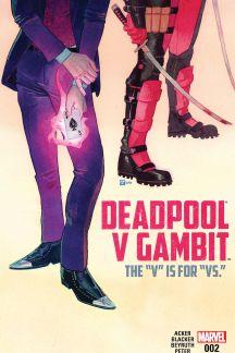 Deadpool V Gambit (2016) #2