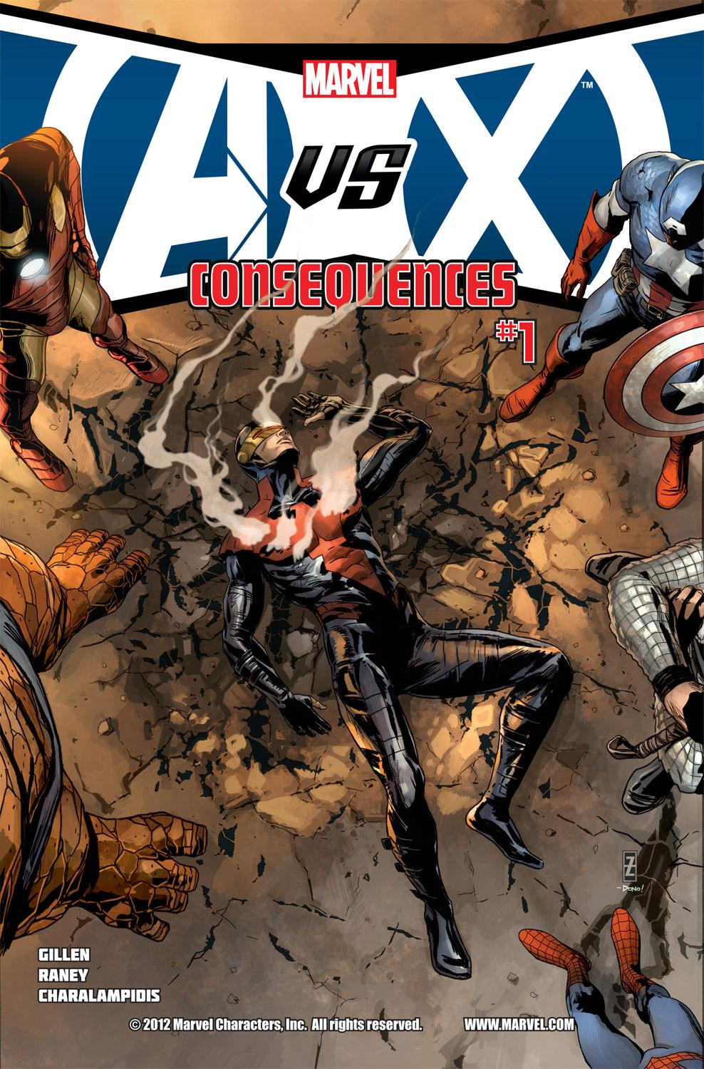 Avengers Vs. X-Men: Consequences (2012) #1