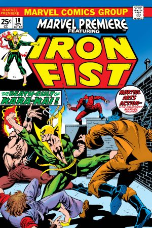 Marvel Premiere (1972) #19