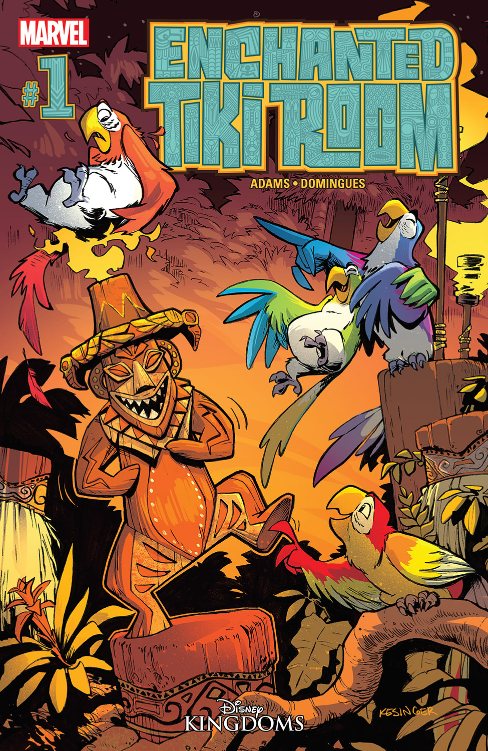 Enchanted Tiki Room (2016) #1