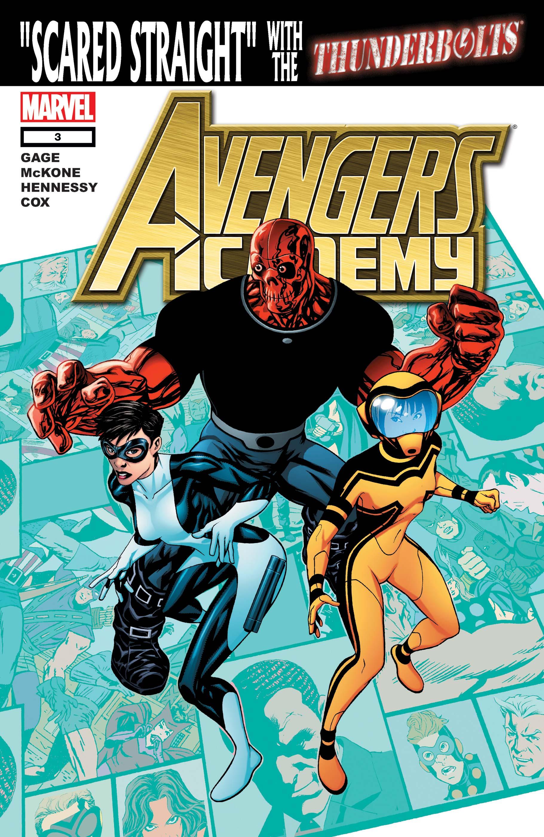 Avengers Academy (2010) #3