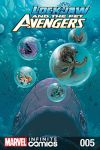 cover from Lockjaw and the Pet Avengers Infinite Comic (2017) #5