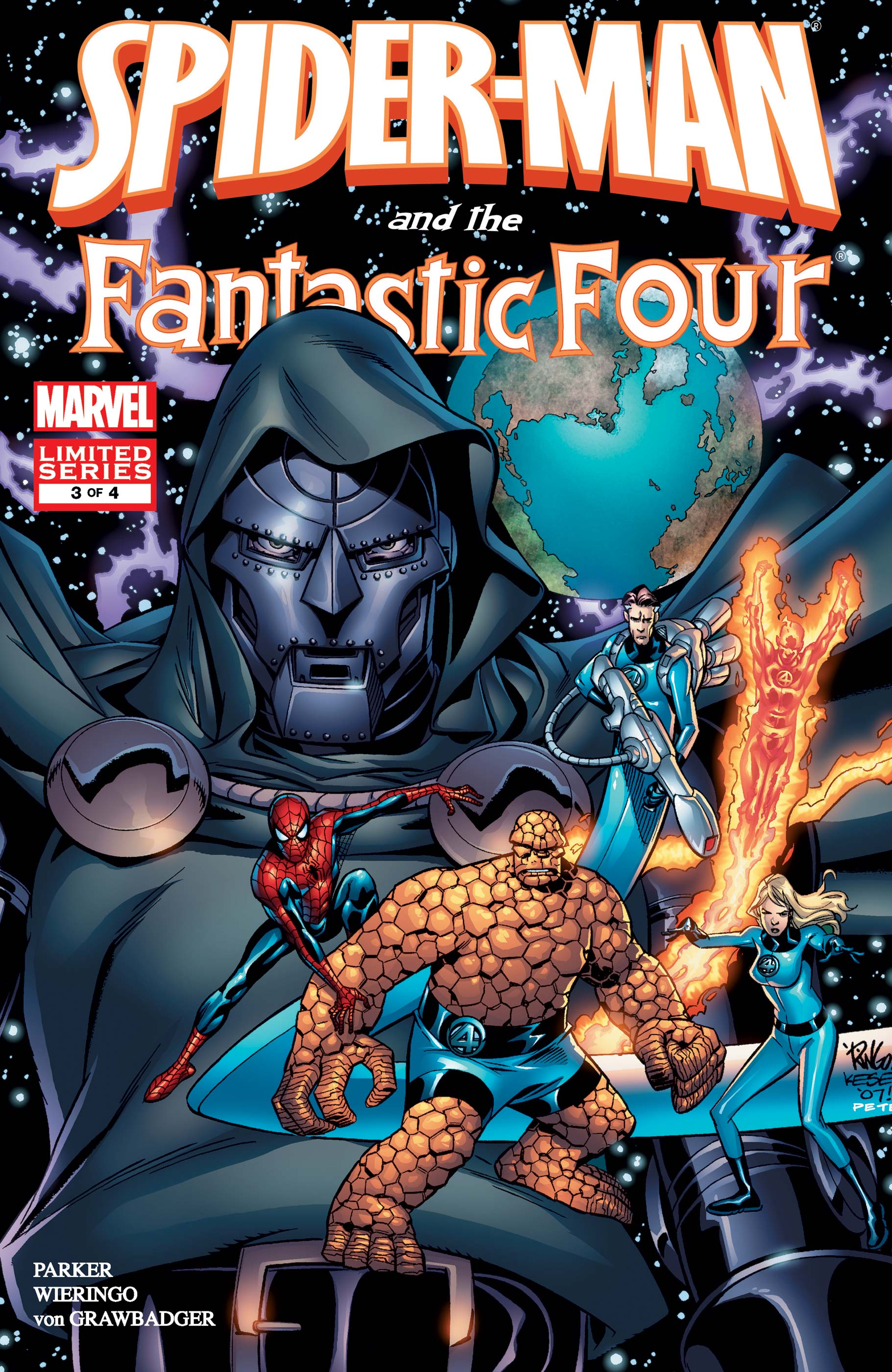 Spider-Man and the Fantastic Four (2007) #3