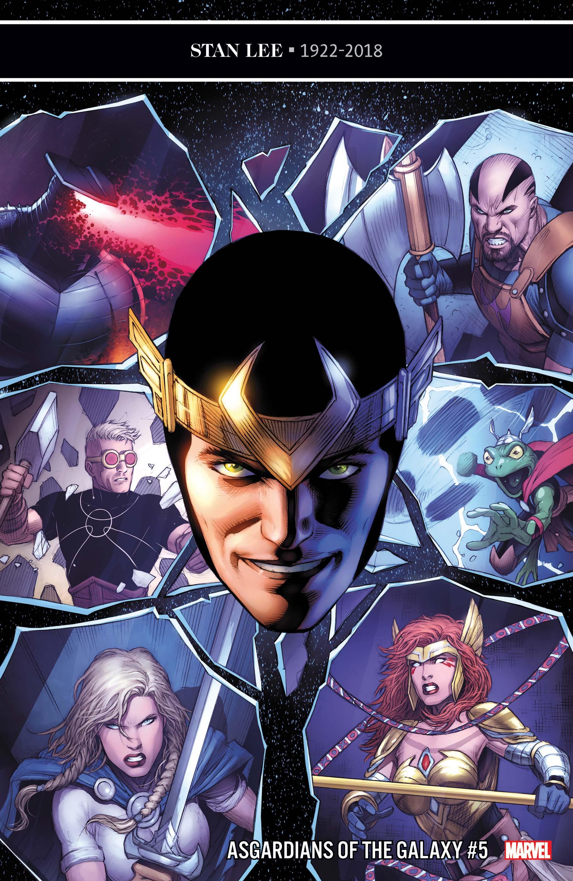 Asgardians of the Galaxy (2018) #5