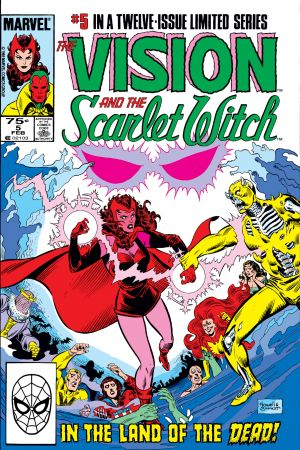 Vision and the Scarlet Witch (1985) #5