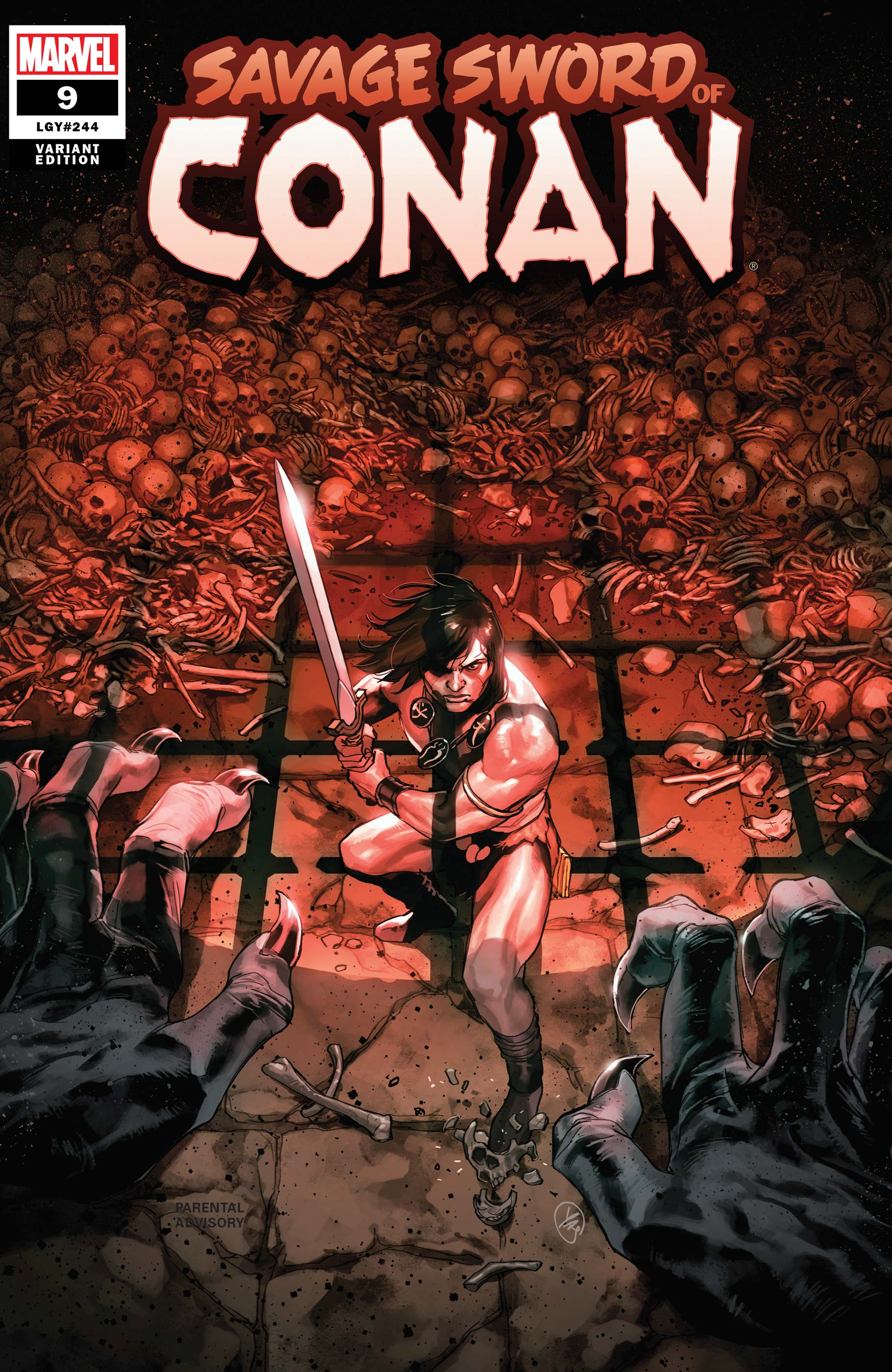 Savage Sword of Conan (2019) #9 (Variant)