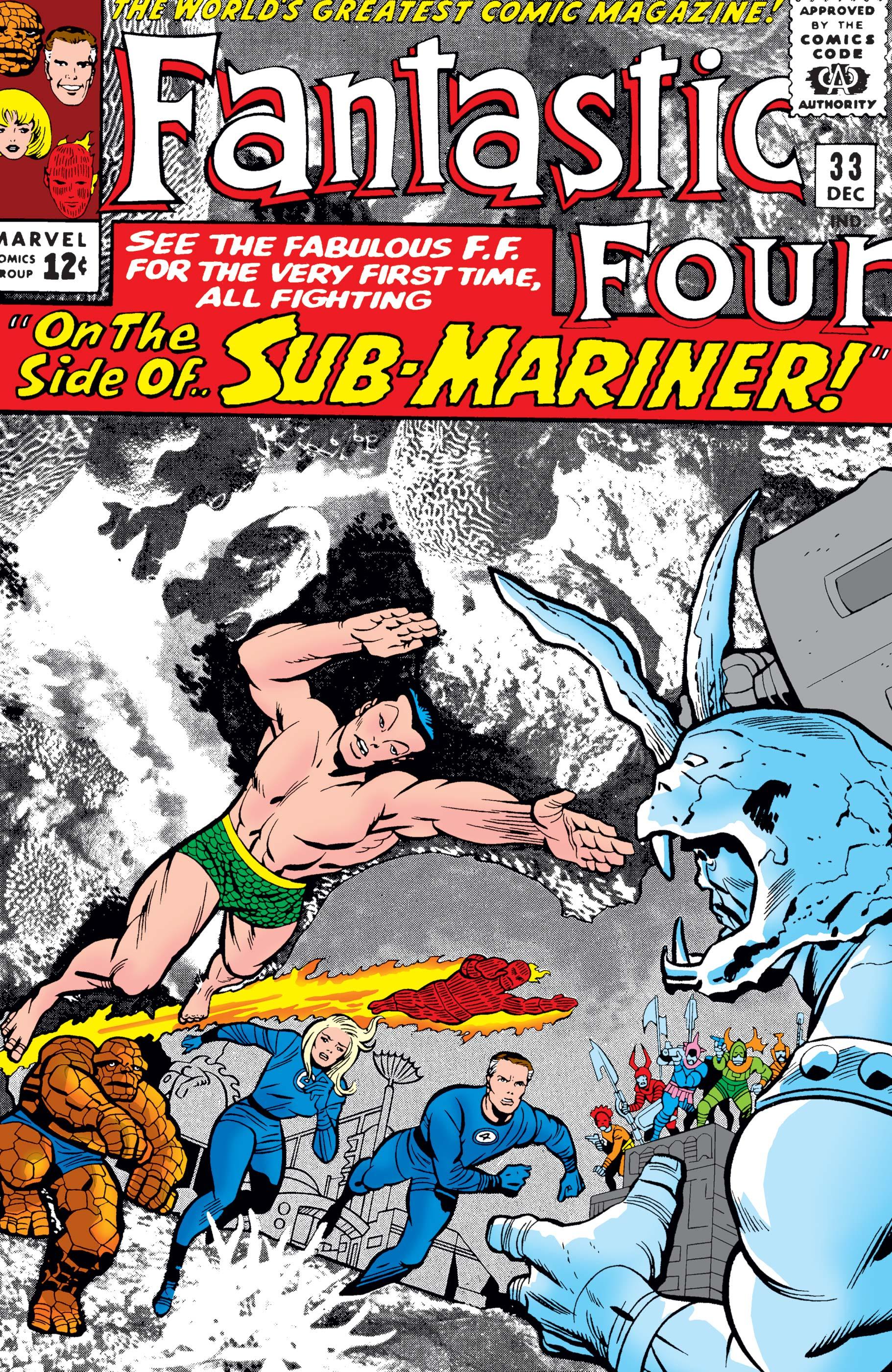 Fantastic Four (1961) #33