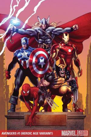 Avengers (2010) #1 (HEROIC AGE VARIANT)