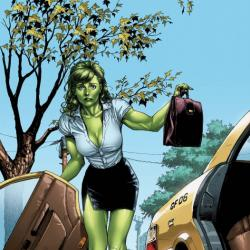 She-Hulk: Sensational #1 cover by Gary Frank
