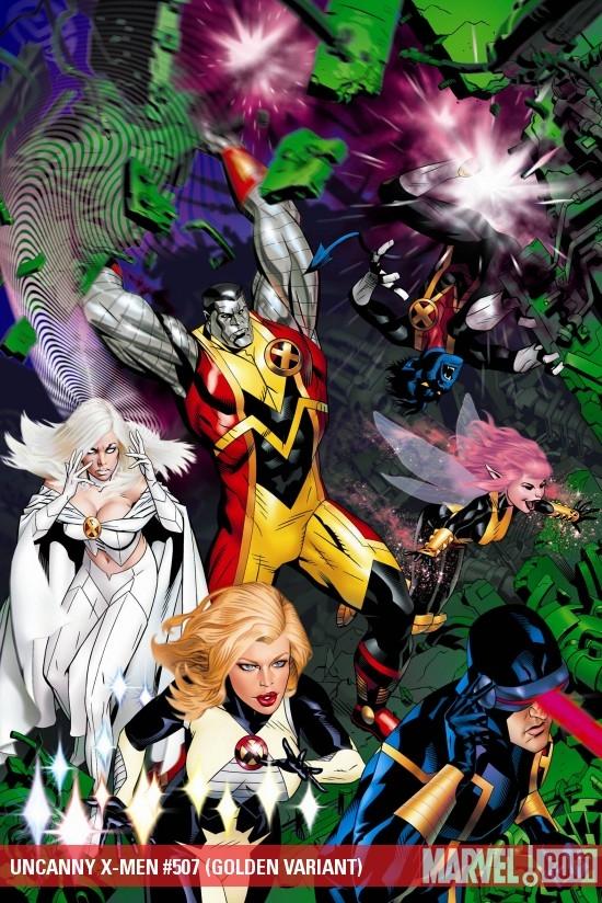 Uncanny X-Men (1963) #507 (GOLDEN VARIANT)