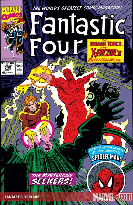 Fantastic Four (1961) #342