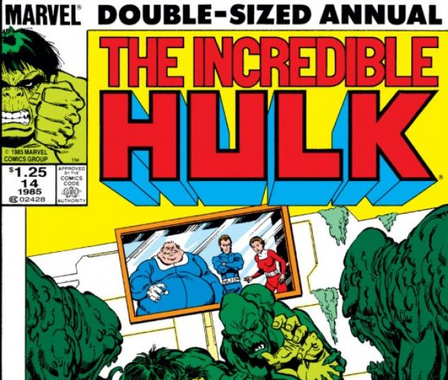Incredible Hulk Annual #14