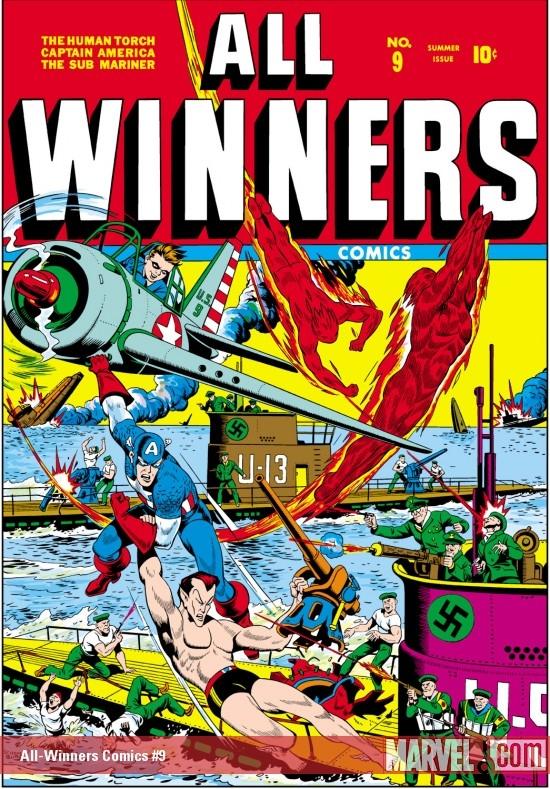 All-Winners Comics (1941) #9