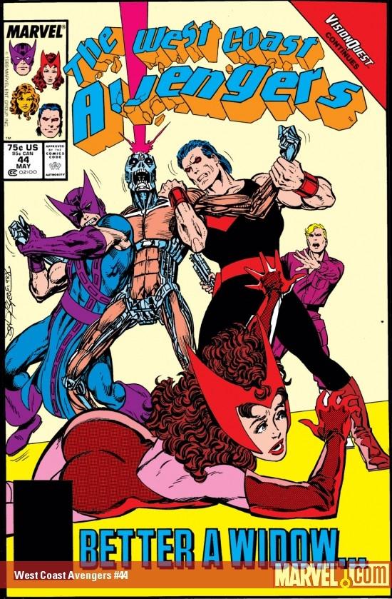 West Coast Avengers (1985) #44