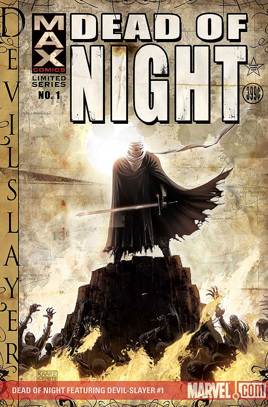 Dead of Night Featuring Devil-Slayer (2008) #1
