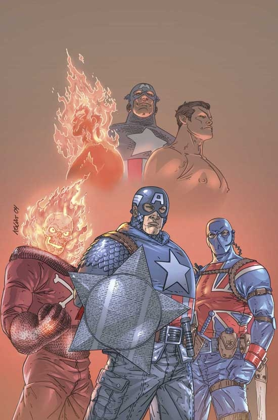New Invaders: To End All Wars (Trade Paperback)