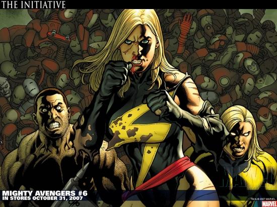 Mighty Avengers (2007) #6 Wallpaper