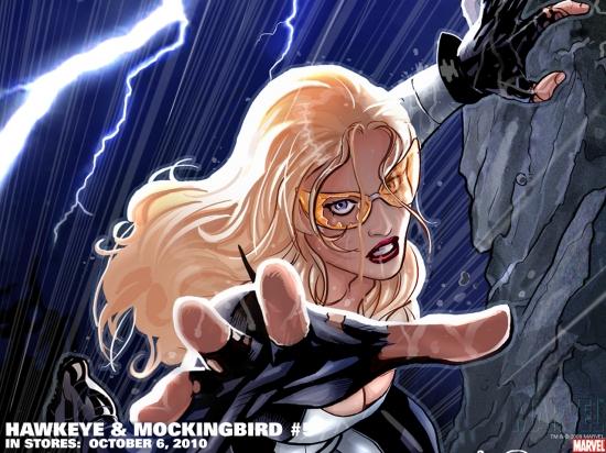 Hawkeye & Mockingbird (2010) #5 Wallpaper
