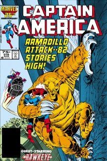 Captain America #316