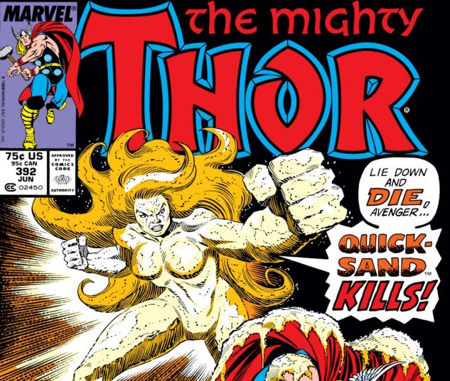 Thor (1966) #392 Cover