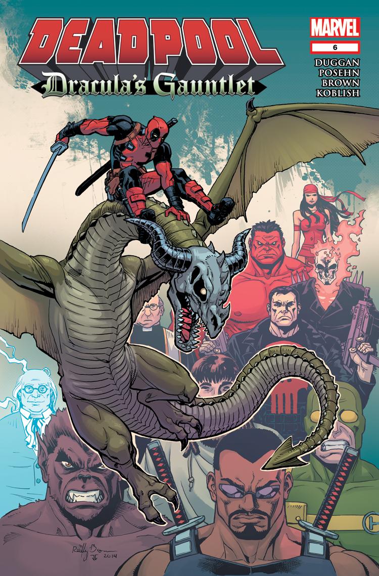 Deadpool: Dracula's Gauntlet (2014) #6
