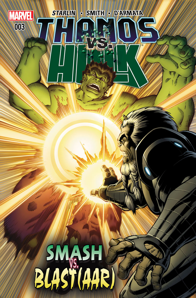 Thanos Vs. Hulk (2014) #3