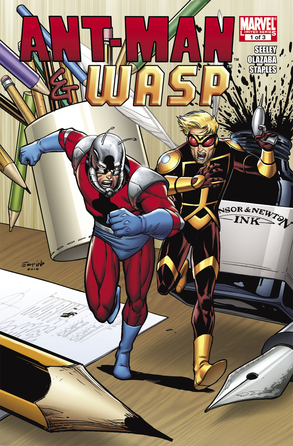 Ant-Man & the Wasp (2010) #1