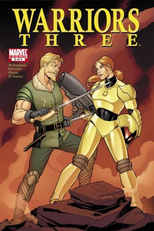 Warriors Three #2