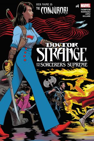 Doctor Strange and the Sorcerers Supreme #4