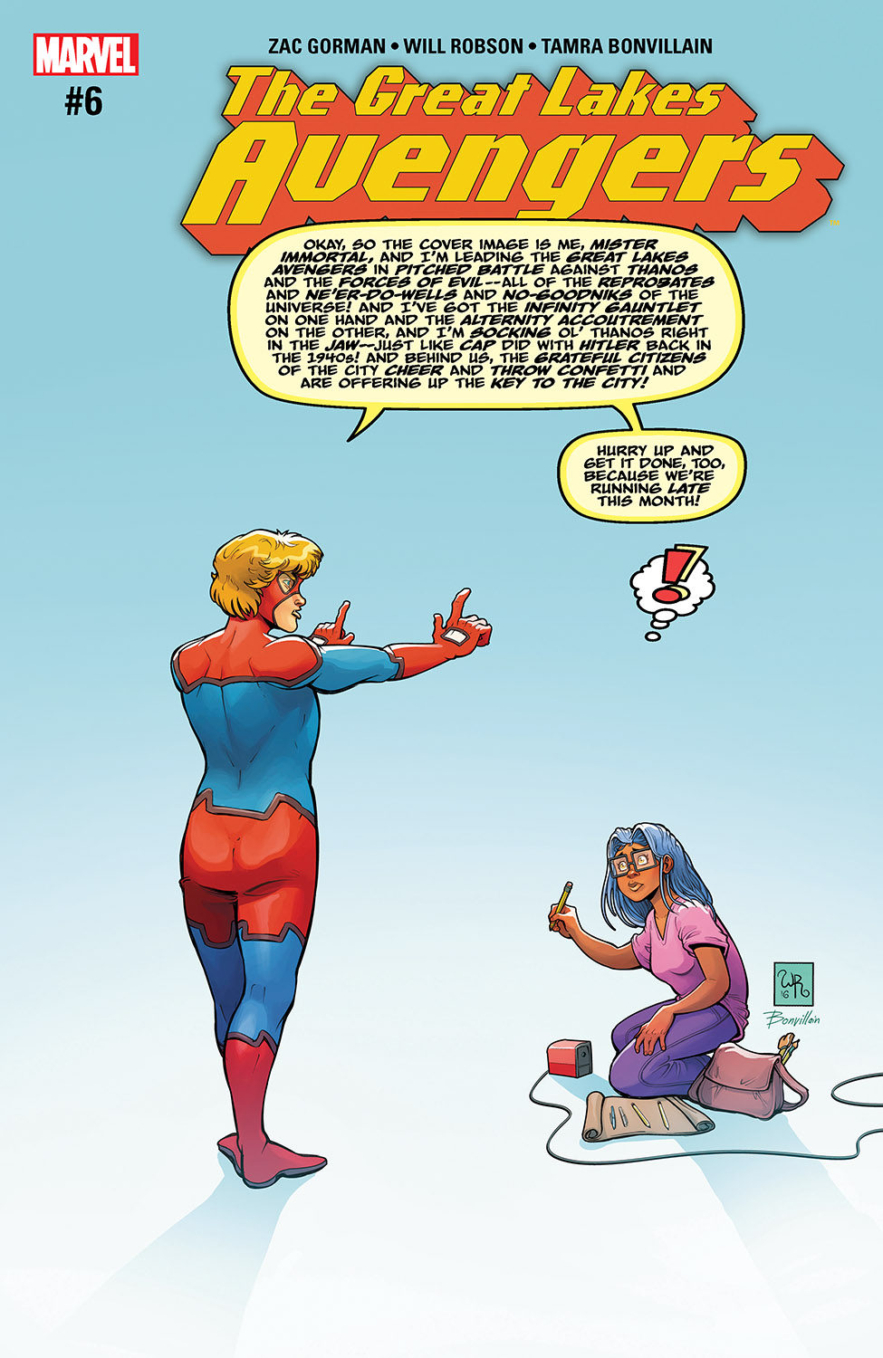 Great Lakes Avengers (2016) #6
