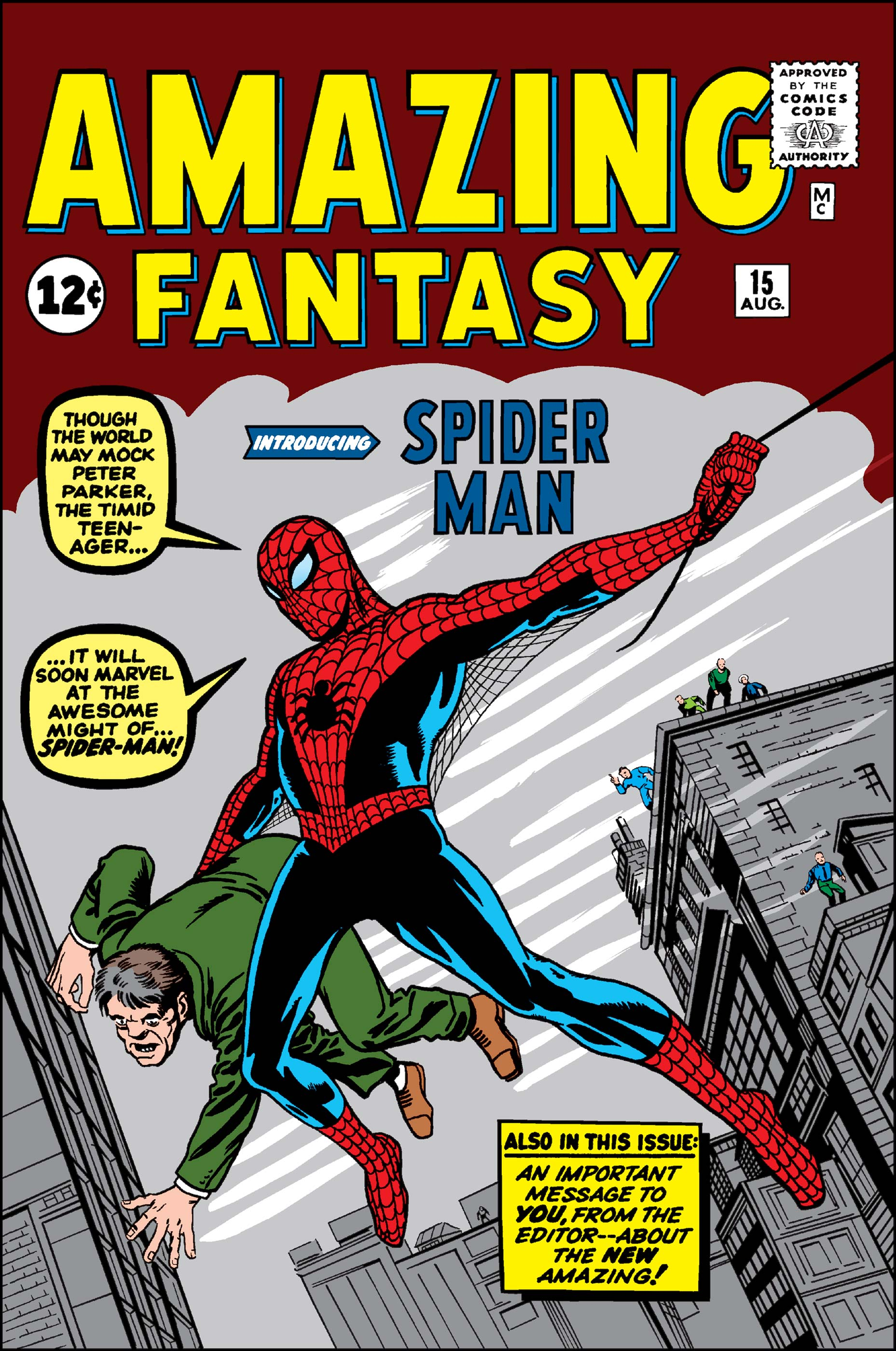Facsimile reprint covers only to Amazing Spider-Man #10 STEVE DITKO VARIANT!!!