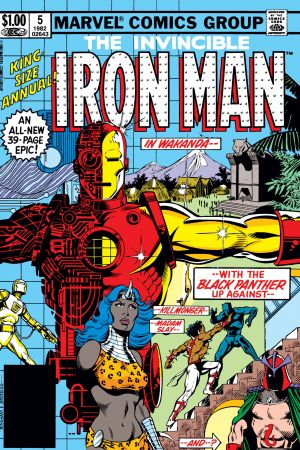 Iron Man Annual  #5