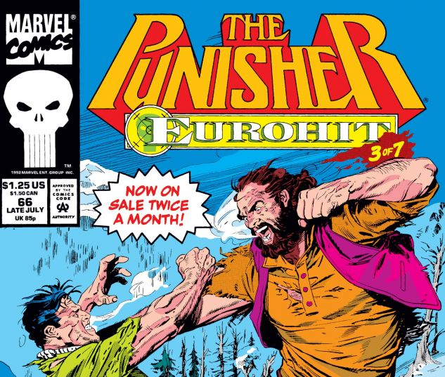 Cover for PUNISHER 66