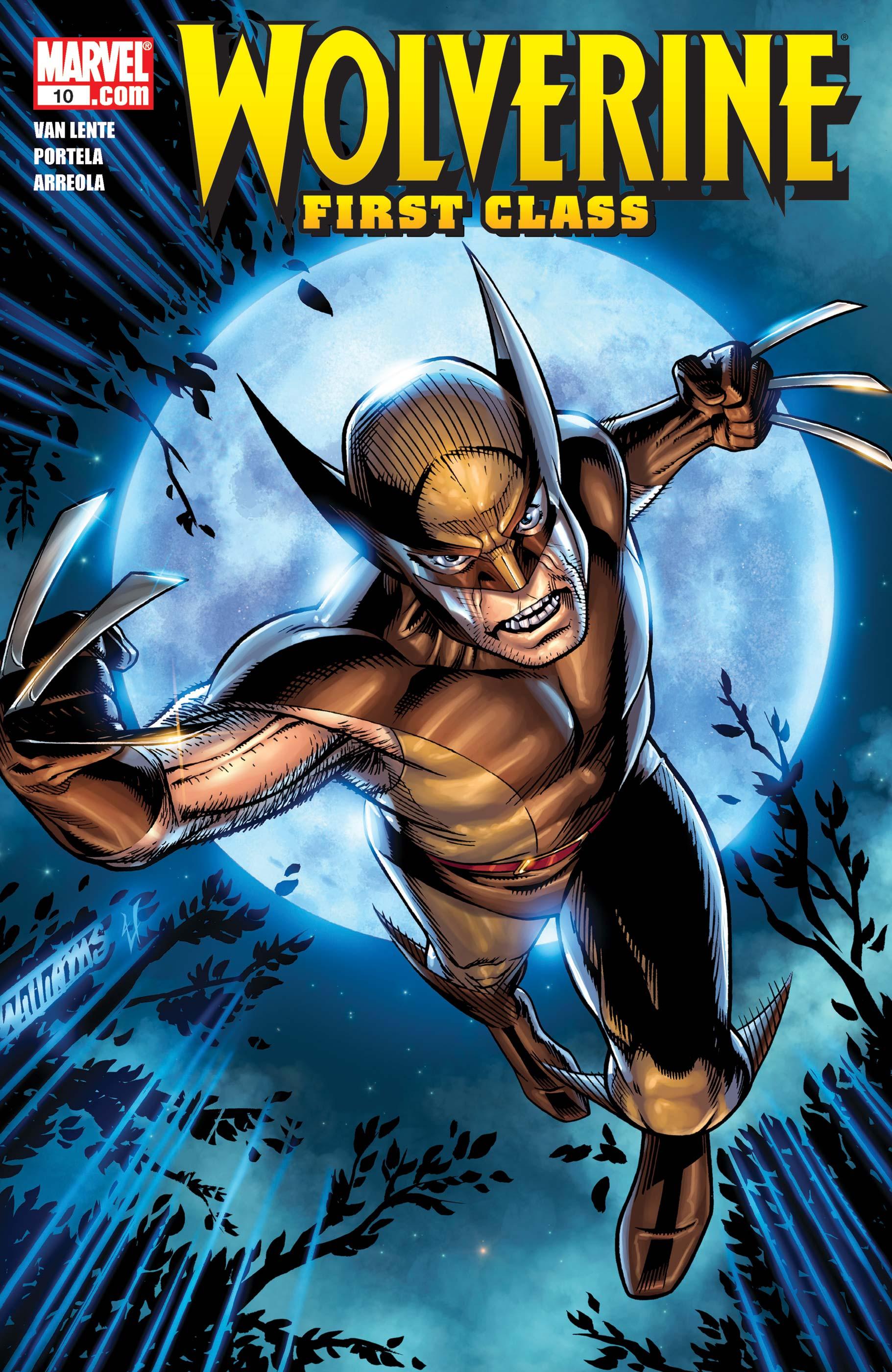Wolverine: First Class (2008) #10