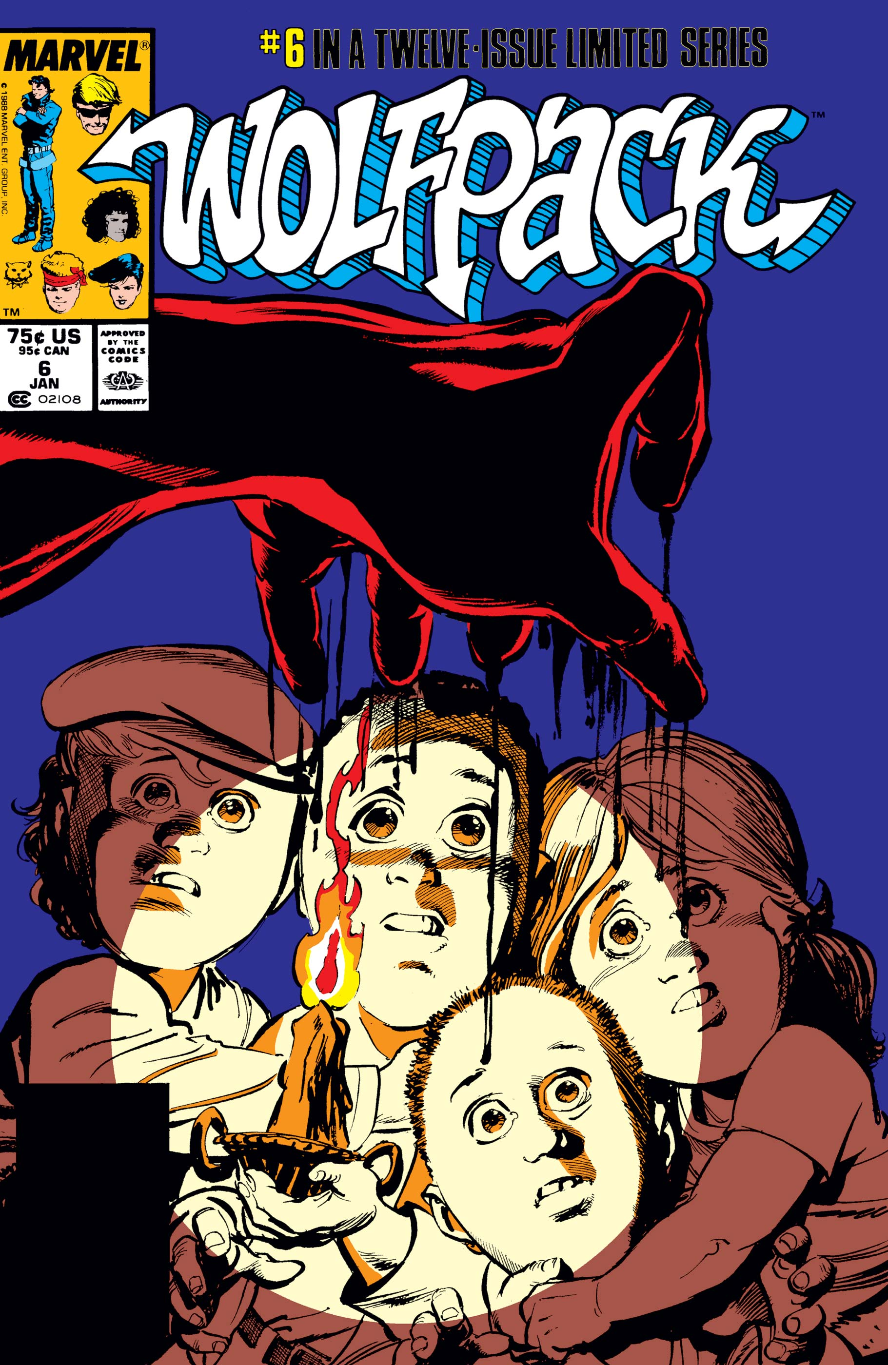 Wolfpack (1988) #6