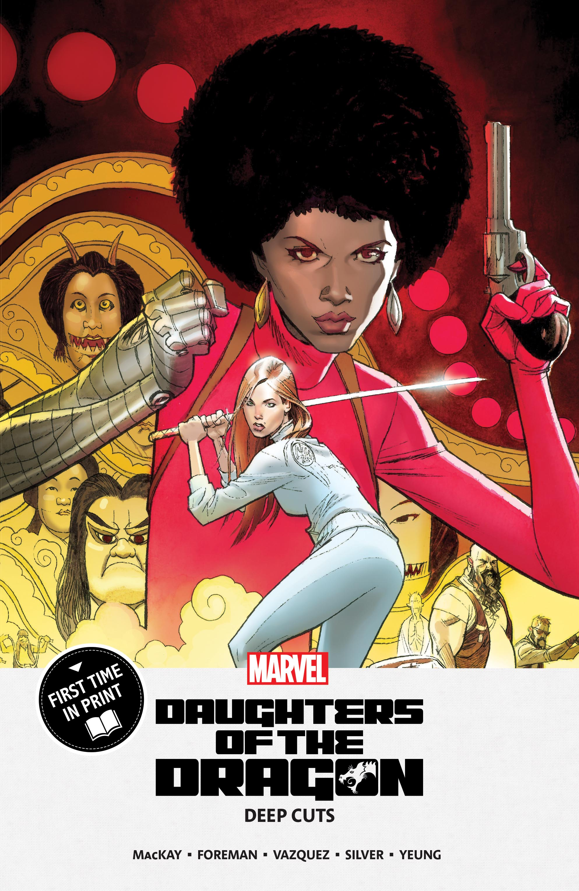 Daughters Of The Dragon: Deep Cuts (Trade Paperback)