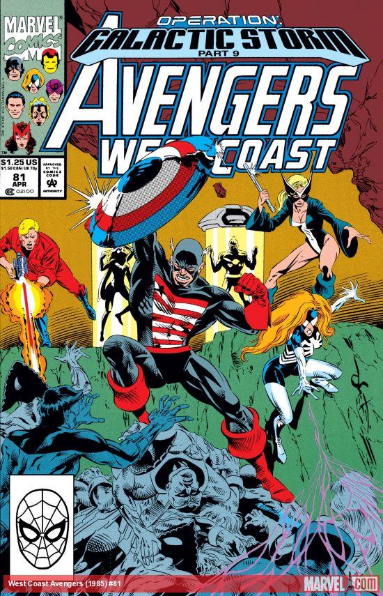 West Coast Avengers (1985) #81