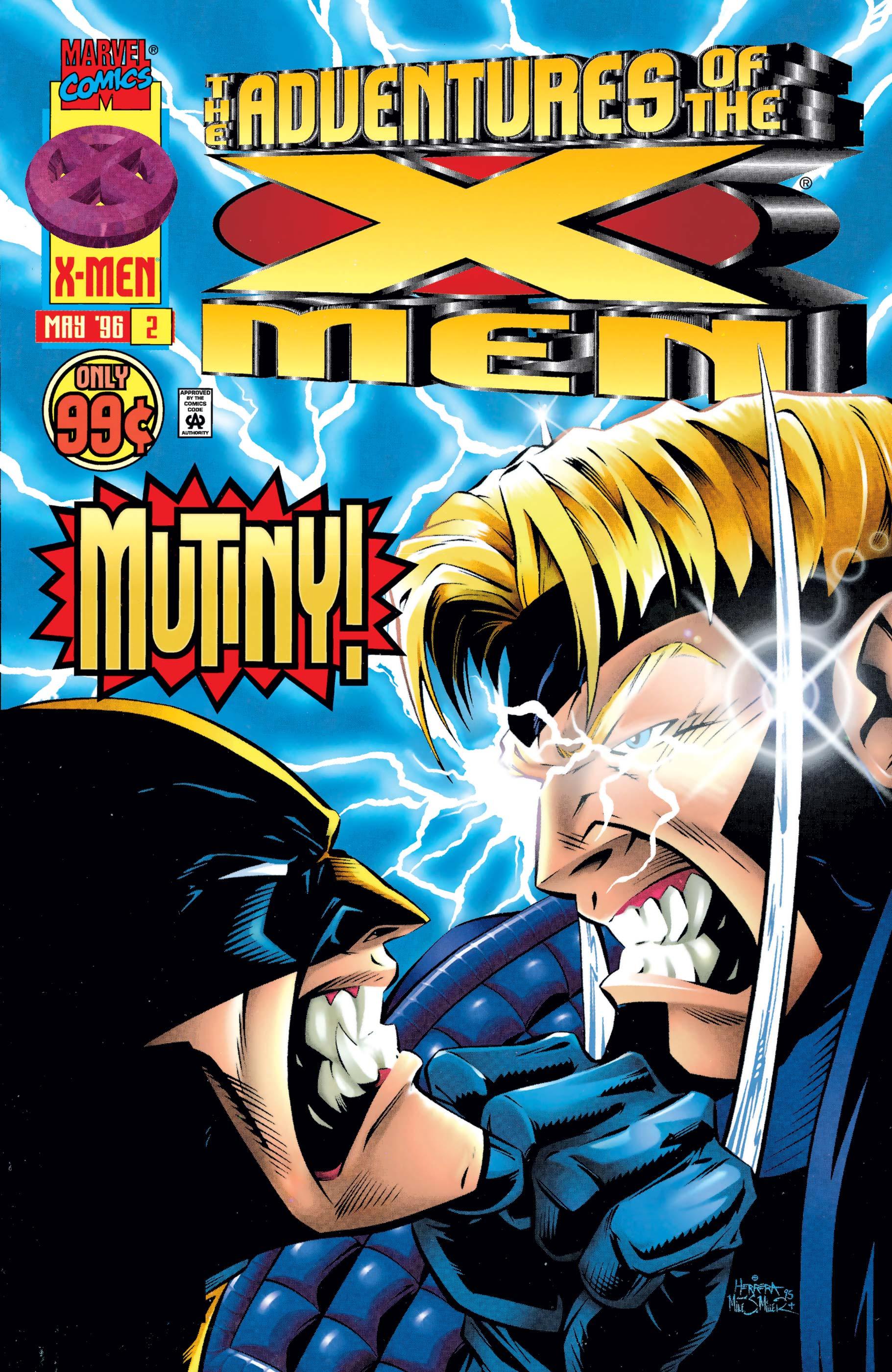 Adventures of the X-Men (1996) #2